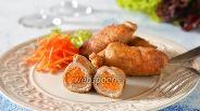 Фото рецепта Крученики из свинины с корейской морковкой