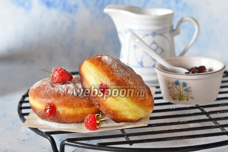 Фото Пончики на сыворотке