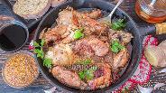 Фото рецепта Курица тушёная в имбирно-соевом соусе