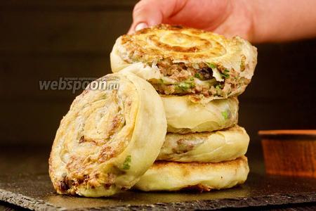 Турецкие буреки с мясом. Видео-рецепт видео рецепт