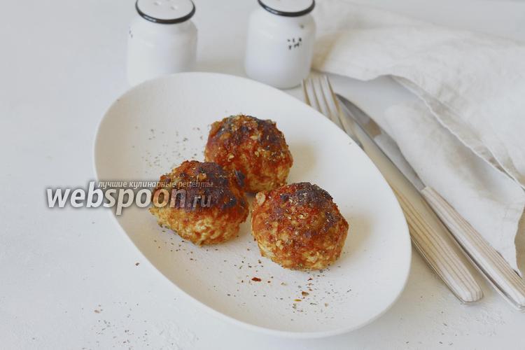 Фото Тефтели с булгуром в томатном соусе в духовке