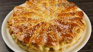 Фото рецепта Отрывной пирог с яблоками. Видео-рецепт