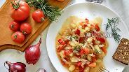 Фото рецепта Тушёные овощи в мультиварке
