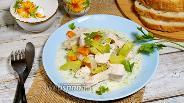 Фото рецепта Индейка в сметанном соусе