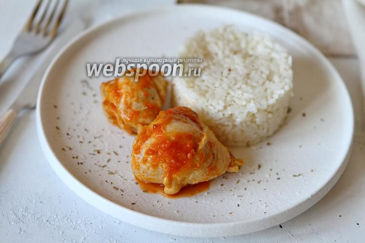 Фото Курица в томатном соусе с чили