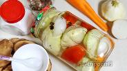 Фото рецепта Маринованные патиссоны с лимонной кислотой