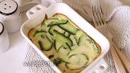 Фото рецепта Омлет с цукини в духовке