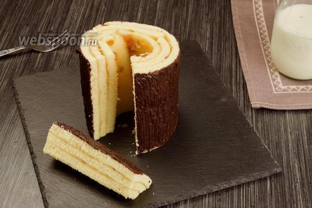 Баумкухен — дерево-пирог. Видео-рецепт видео рецепт