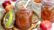 Фото рецепта Варенье из райских яблок прозрачное