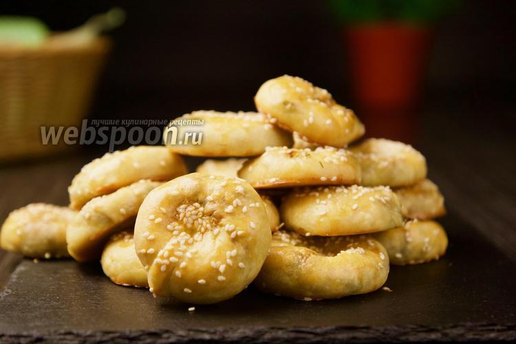 Фото Пирожки с капустой и яйцом. Видео-рецепт