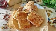 Фото рецепта Лаваш с кинзой и сыром на сковороде