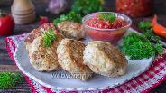Фото рецепта Биточки из курицы и цветной капусты