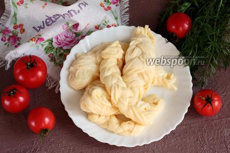 Фото рецепта Чечил — армянский сыр