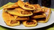 Фото рецепта Открытые пирожки с мясом. Видео-рецепт