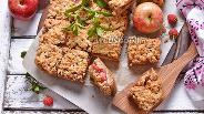 Фото рецепта Яблочный пирог «Квадратики»