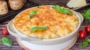 Фото рецепта Макароны с соусом бешамель и сыром