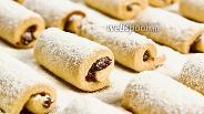 Фото рецепта Печенье со сливой. Видео-рецепт