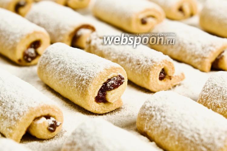 Фото Печенье со сливой. Видео-рецепт