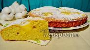 Фото рецепта Торт «Нуа» с заварным кремом
