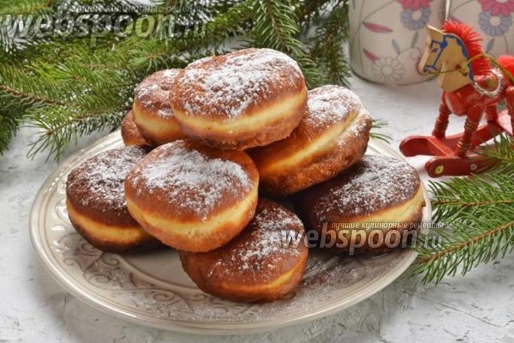 Фото Дрожжевые пончики на кефире