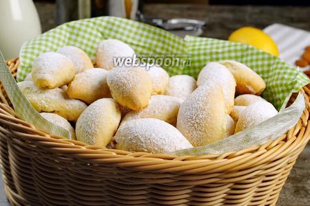 Печенье «Лимончики». Видео-рецепт видео