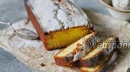 Фото рецепта Простой кекс с апельсиновой цедрой