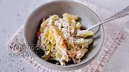 Фото рецепта Паста без глютена с крабовыми палочками