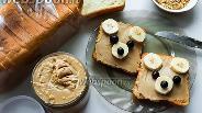 Фото рецепта Хрустящая веганская арахисовая паста