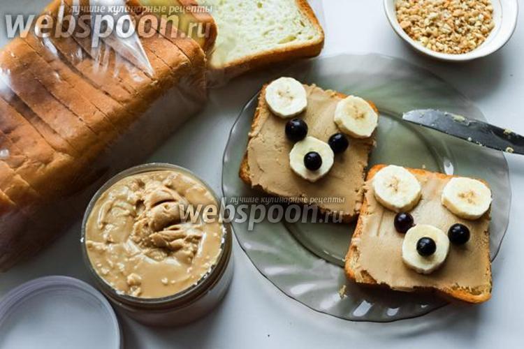 Фото Хрустящая веганская арахисовая паста