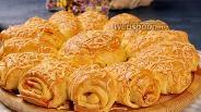 Фото рецепта Дрожжевой пирог с фаршем. Видео-рецепт