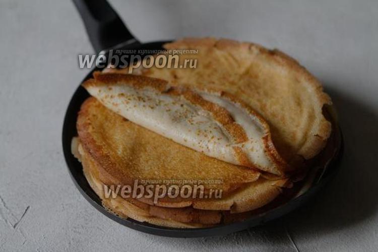 Фото Блины на картофельном отваре с молоком