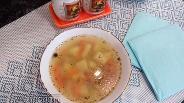 Фото рецепта Гороховый суп на утином бульоне