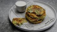 Фото рецепта Оладьи из кабачков на рисовой муке