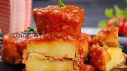 Фото рецепта Фаршированный картофель с фаршем «Мафрум». Видео-рецепт