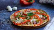 Фото рецепта Пицца на тортилье