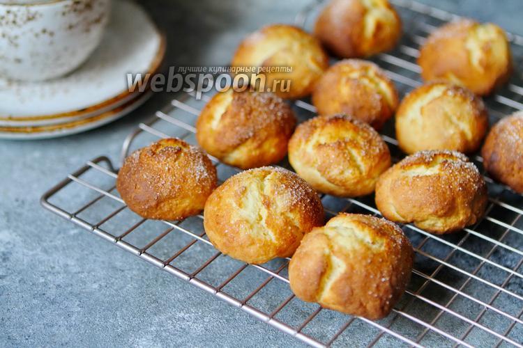 Фото Творожное печенье с имбирём