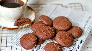 Фото рецепта Американское кофейное печенье