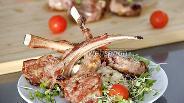 Фото рецепта Каре ягнёнка на гриле