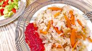 Фото рецепта Плов из куриной грудки по-узбекски