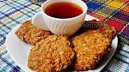 Фото рецепта Печенье из геркулеса