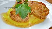 Фото рецепта Курица запечённая в ананасовом маринаде