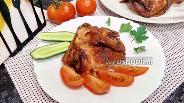 Фото рецепта Куриные бёдра в соевом соусе с мёдом и специями
