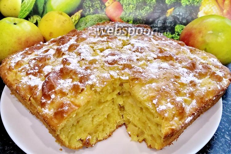 Фото Старомодный яблочный пирог
