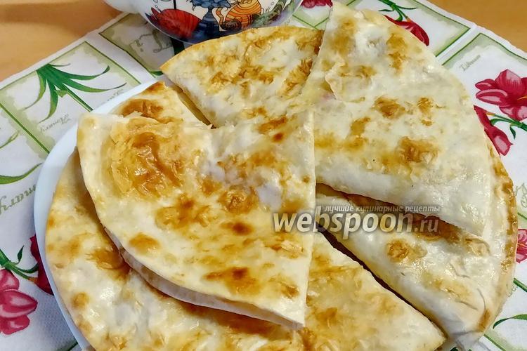 Фото Мини-пицца из лаваша