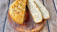 Фото рецепта Низкоуглеводный хлеб с сыром