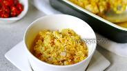 Фото рецепта Булгур с курицей и овощами в духовке