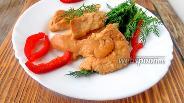 Фото рецепта Куриное филе в духовке в соево-горчичном соусе