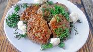 Фото рецепта Котлеты из индейки и куриной печени