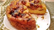 Фото рецепта Сливовый пирог в мультиварке