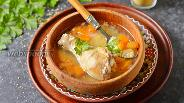 Фото рецепта Суп с кускусом и курицей